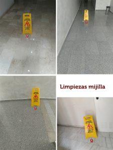 aviso suelos mojados